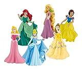 Bullyland 13362 - Spielfigurenset - Walt Disney Prinzessinnen
