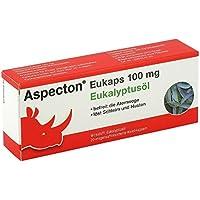 Preisvergleich für Aspecton Eukaps 100 mg 3er Sparset: (3x20 Stück) Eukalyptusöl löst Hustenreiz und Schleim. Für Kinder ab 12 Jahren...
