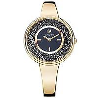 ساعة يد كاجوال من سواروفسكي للنساء انالوج وسوار من الستانلس ستيل - 5295334
