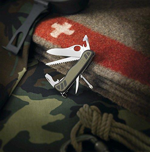 Victorinox Taschenwerkzeug Schweizer Soldatenmesser 08 Grün/Schwarz, 0.8461.MWCH - 2