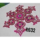 Chanchal Creation Acrylic Kalash Rangoli