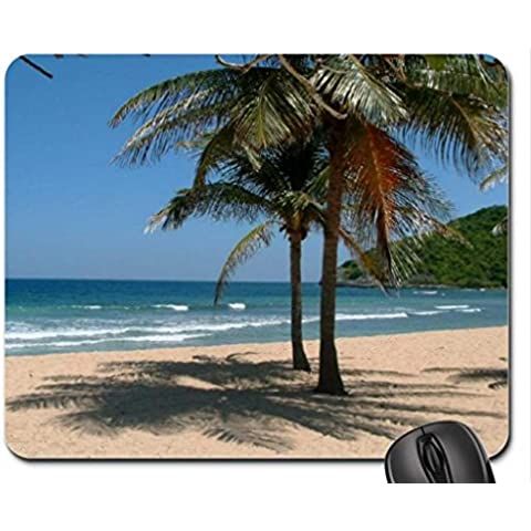 Shady Spot. Mouse Pad, tappetino per Mouse, spiagge Mouse Pad)