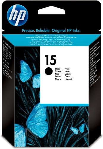Preisvergleich Produktbild HP 15 schwarz Original Tintenpatrone für gelegentliches Drucken