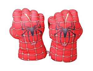 Spider-Man cosplay Mains Gants peluche