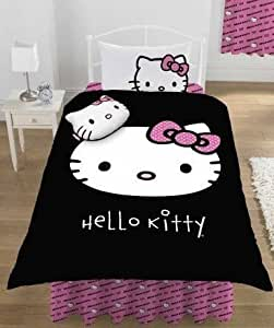 Hello Kitty Twilight couette lit simple couverture Taies