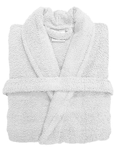 f8ce175d0e Spa Collection Home Mens and Ladies 100% Cotton 550GSM Terry Towelling  Adults Shawl Collar Bathrobe