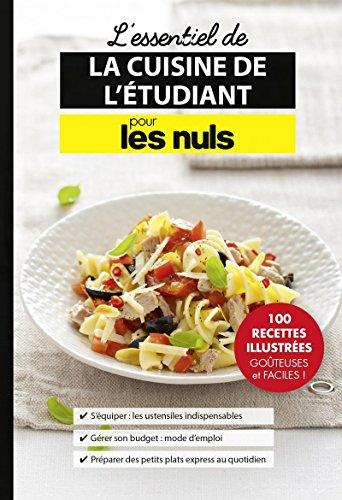 L'essentiel de la cuisine de l'étudiant pour les Nuls par Jules Collectif