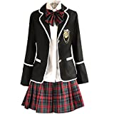 URSFUR Mädchen Japan Kostüm Langärmelige Anzug Cosplay Uniform Anime Uniform - Stil 11-S