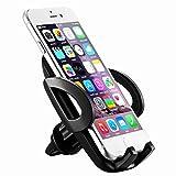 Supporto Auto Smartphone Mpow 360 Gradi di Rotazione Porta Cellulare Auto per telefoni iPhone 8 7 7 Plus 6s 6s Plus 6 6 Plus iPhone SE 5s, Samsung Galaxy S7 S6 J5 A5, Asus Zenfone 3, Huawei e GPS ecc.