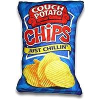 Cheeky Baldrick Couch Potato Chips Cojín (grande)