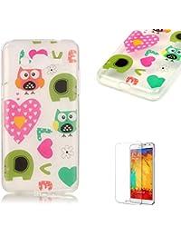 Funda protectora para Samsung de TPU Love Owls Samsung Galaxy Grand Prime G530