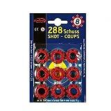 shoperama Wildwest Pistolen-Munition 36 x 8 Schuss Cowboy Colt Platzpatronen:Ersatzmunition