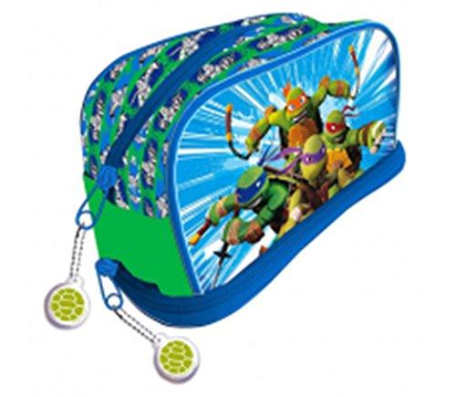 Ninja Turtles Kulturbeutel mit Basis, Kunststoff, Mehrfarbig, 11x 21x (Teenage Mutant Ninja Turtle Schuhe)