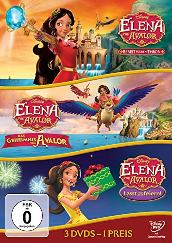 Elena von Avalor - Thron / Geheimnis / feiern [3 DVDs]
