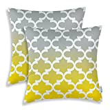Best Pillowcase Modern Fantasy Sofas - CaliTime Pack of 2 Canvas Throw Pillow Covers Review