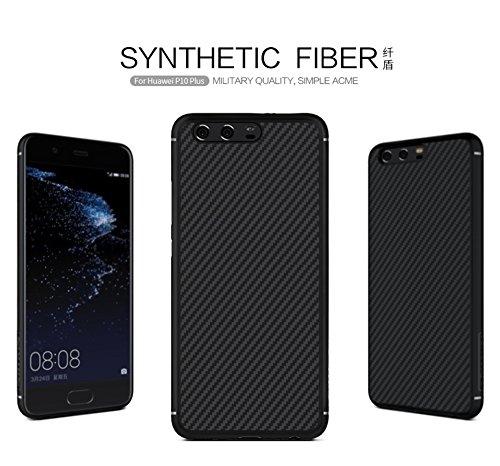 nillkin-synthetic-fiber-ruckwertiges-starres-schongehause-rutschfest-fur-huawei-p10-plus-schwarz