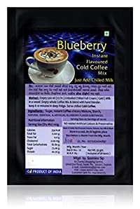 Blueberry Flavoured Cold Coffee Mix, 50 grams