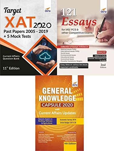 XAT 2020 Simplified (15 yrs Past Papers + 5 Mock Tests + General Awareness + Essays) 8th Edition