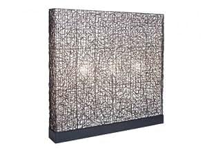 Lampadaire SHEHERAZADE en rotin - H.132 cm