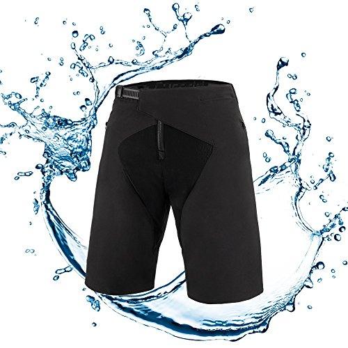 Cycorld Outdoor Sport MTB Hose, Wasserabweisend Fahrradhose Herren Mountainbike Hose, Baggy Radhose Radlerhose Herren, Sommer Fahrrad Kurz Sporthose Shorts