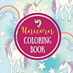 Unicorn Coloring Book: Fun Unicorn Coloring Pages (Large, 8.5 x 8.5 in.): Volume 5 (Unicorn Gifts)
