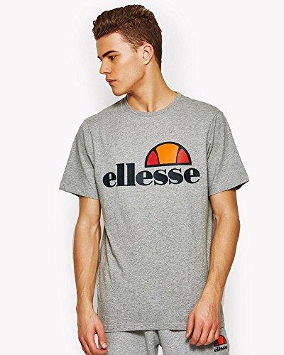 ellesse Prado Herren-T-Shirt - Grau (ath grey) - XL