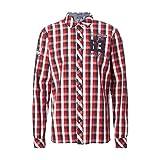 Camp David Regular Fit Freizeithemd Herren Hemd Karo kariert Extra Langarm Hemd