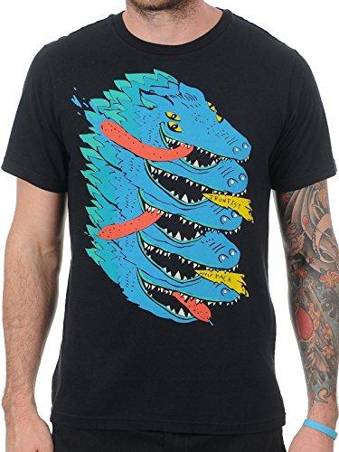 T-Shirt Iron Fist Wolfpack Nero (M , Nero)