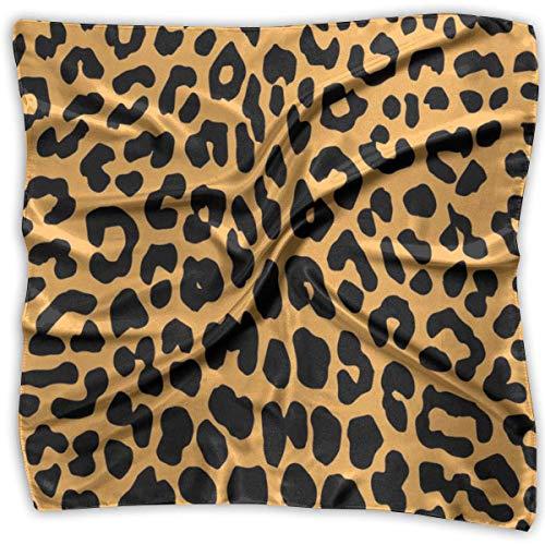 Kostüm Bei Rennen Tag Den - Bikofhd Halstuch mit Leopardenmuster, 100% Seide, quadratisch, klein, klein