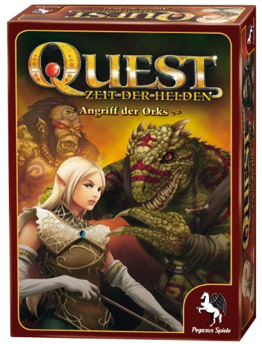 Angriff Brettspiel (Pegasus Spiele 65000G - Quest: Angriff der Orks (1))