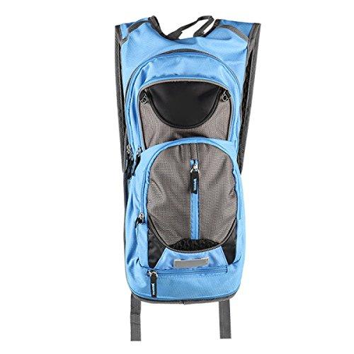 Outdoor Sport Breathable Klettern Fuß Trekking Wasserdicht Ultra-light Multifunktions Rucksack,Red SkyBlue