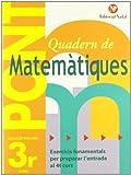Pont. Quadern De Matematiques. Canvi De Curs 3 (Pont (canvi De Curs))