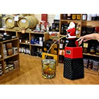 Santa Claus Liquor/Whisky/Wine/Vodka Dispenser/Decanter Battery operated for Bar/Pubs/Party/Home Bar (Capacity 500 ml)