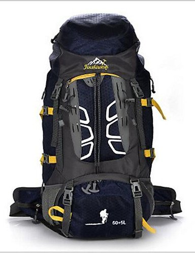 ZQ 55 L Rucksack Camping & Wandern / Klettern / Reisen Draußen / Legere SportWasserdicht / Wärmeisolierung / Multifunktions / Skifest / Red
