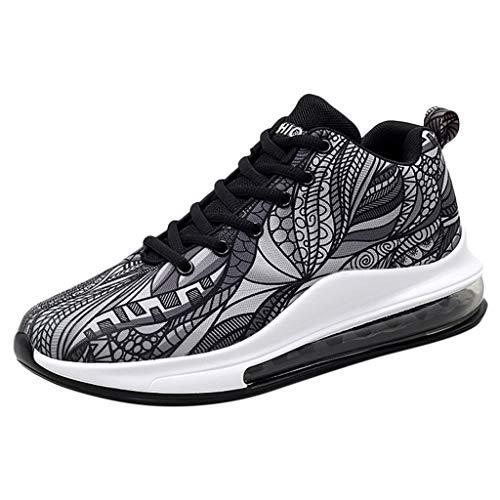 NISOWE Chaussures De Sport DéContractéEs pour Hommes en Plein Air pour Hommes Run Run Sneakers Respirant Chaussure Running Homme