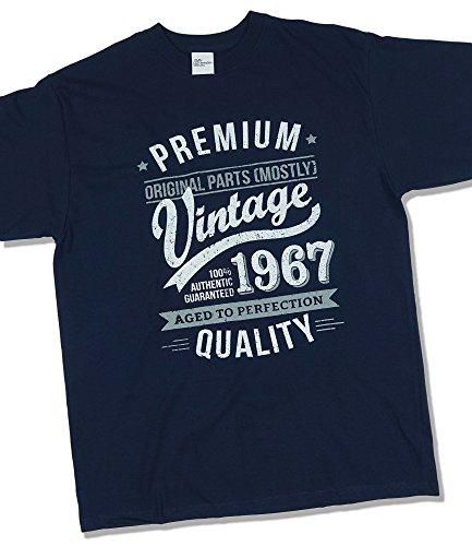 1967-vintage-year-aged-to-perfection-regalo-di-compleanno-per-50-anni-maglietta-da-uomo-blu-marino-x