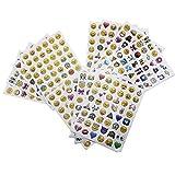 Emoji Aufkleber 576 Nette lustige Sticker Glü...Vergleich