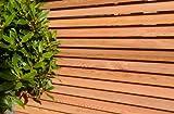 Sapeli Taktstöcke/Lamellen verwendet in moderner Stil Zäunen Hartschale Holz