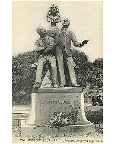 Photographic Print of Statue of the Coquelin Brothers - Boulogne-sur-Mer, France