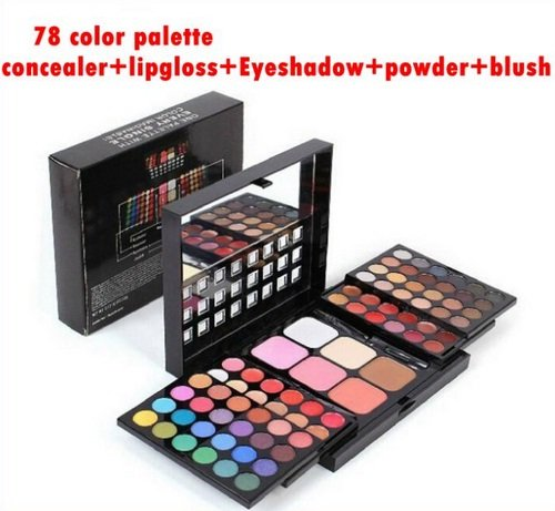 78-color-palette-set-48-eyeshadow-24-lip-gloss-6-foundation-face-powder-blush-makeup-kit-cosmetics-s