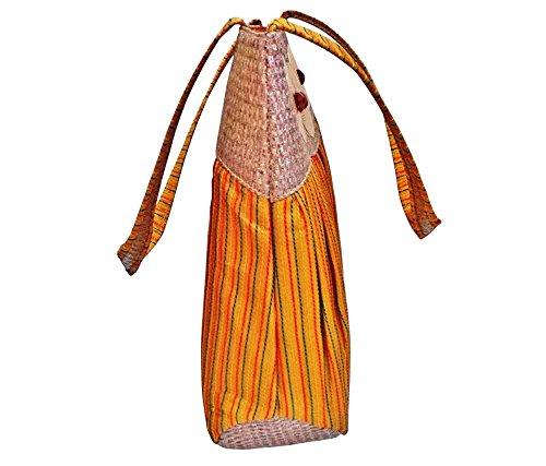 Bhamini, Borsa a mano donna Marrone (marrone)