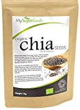 Semi di Chia Biologici ( 1 Chilo) | Miglior Qualità Disponibile | di MySuperfoods