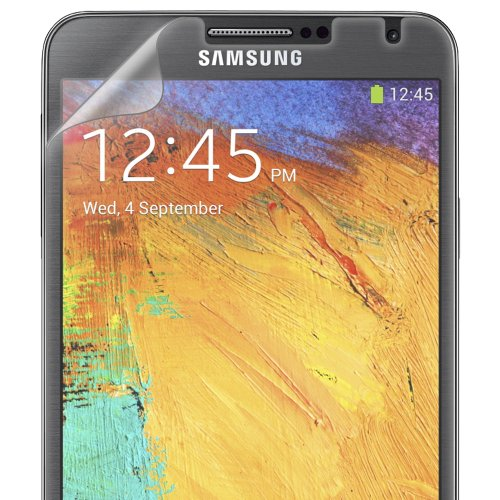Amzer 96627 ShatterProofTM Screen Protector - Front Coverage for Samsung GALAXY Note 3 SM-N9000, Samsung GALAXY Note 3 SM-N9005, Samsung GALAXY Note 3 SM-N900  available at amazon for Rs.799