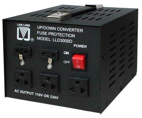 3000W USA Spannungswandler 230/220V auf 110V step-down / step-up