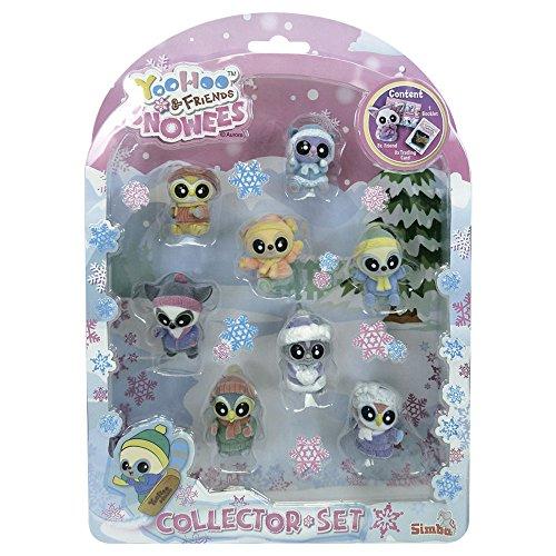 Yoohoo & Friends - Snowees, blíster 8 Figuras flocadas (Simba 5950305)