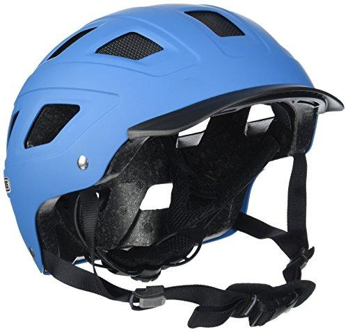 Abus Erwachsene Fahrradhelm Hyban, blau, 58-63 cm, 37271-1