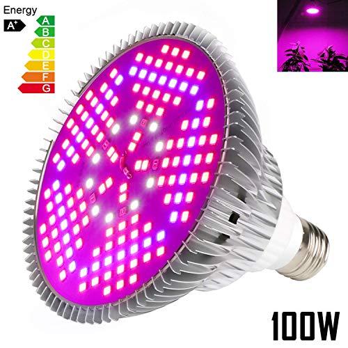 Iluminación plantas 100W E27 Bombillas luz 150 Leds