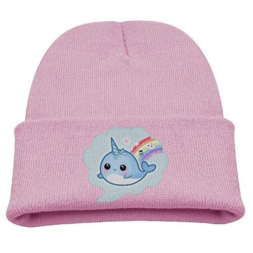 WYICPLO Fashion Funny Cap Hat Cute Kawaii Baby Narwhal Unisex Beanie C