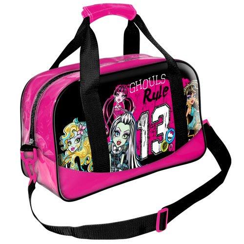 Monster High Sac de Sport Enfant Sac de Sport Street 13 45 cm (rose) 07477