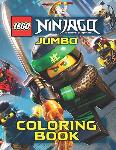LEGO NINJAGO JUMBO Coloring Book: 59 Exclusive Illustrations